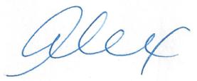Signature Alex