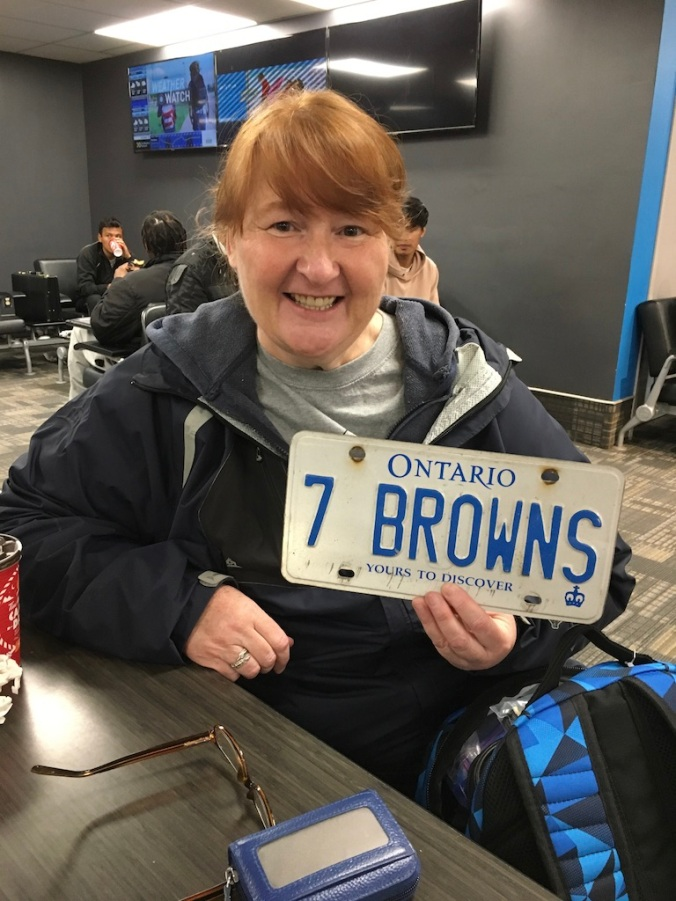 Alex with 7BROWNS plate